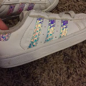 Other - Toddler Adidas 6K Rainbow fish shoe color